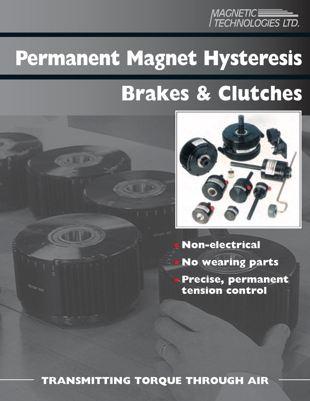 Permanent Magnet Hysteresis Brakes and Clucthes for the web-page-001